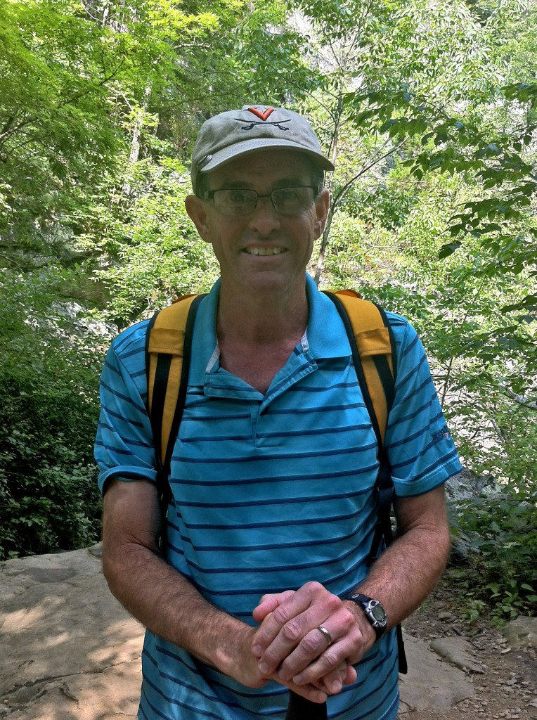 Howard, a local hiker, who I met at the first falls