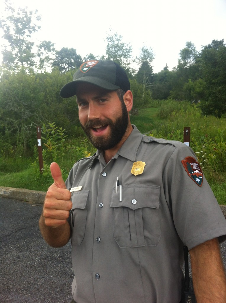 Matt, one of the rangers at Shenandoah